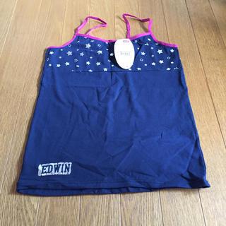 エドウィン(EDWIN)のエドウィン キャミソール 紺色 150 EDWIN 新品(Tシャツ/カットソー)