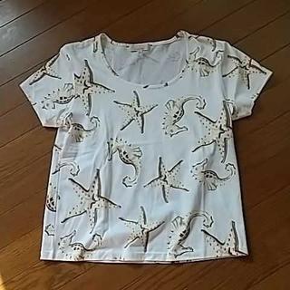 ジュンコシマダ(JUNKO SHIMADA)の未使用⭐️ジュンコシマダ♡トップス(カットソー(半袖/袖なし))