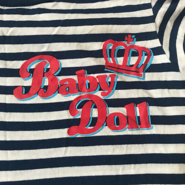 BABYDOLL(ベビードール)のボーダーTシャツ ベビードール レディースのトップス(Tシャツ(半袖/袖なし))の商品写真