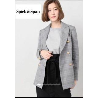スピックアンドスパン(Spick and Span)のまなまな様専用 価 28680円 Spick & Span   グレンチェック(テーラードジャケット)