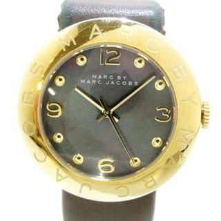 マークバイマークジェイコブス(MARC BY MARC JACOBS)のマークジェイコブス 腕時計 MBM1287 グレー(腕時計)