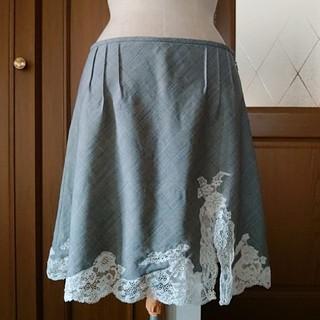 クリスチャンディオール(Christian Dior)の専用  Dior クリスチャン・ディオール レーススカート(ひざ丈スカート)