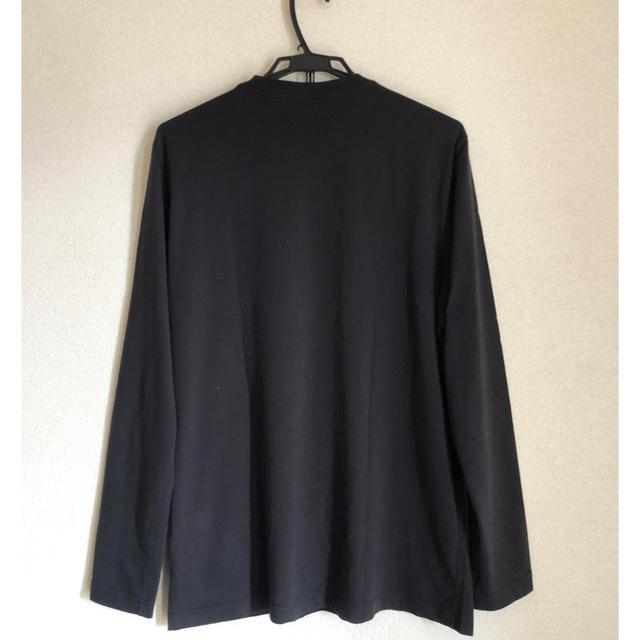 Y-3(ワイスリー)の【未使用】18-19SS Y-3 M LOGO LS TEE yohji メンズのトップス(Tシャツ/カットソー(七分/長袖))の商品写真