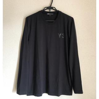 Y-3 - 【未使用】18-19SS Y-3 M LOGO LS TEE yohji