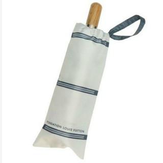 ルイヴィトン(LOUIS VUITTON)の★LOUIS VUITTON ルイヴィトンフォンダシオン美術館 折りたたみ傘★(傘)
