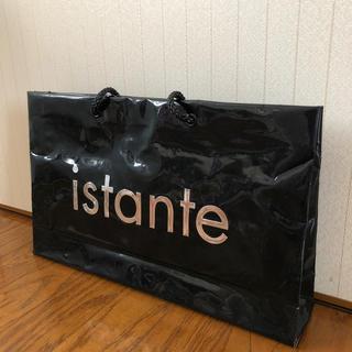 イスタンテ(istante)のistante ビニールショッパー(ショップ袋)