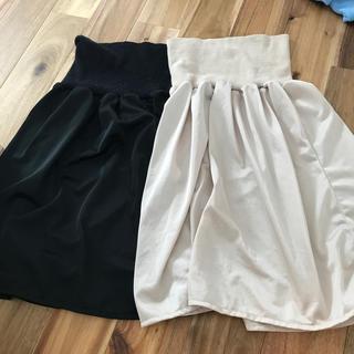 ムジルシリョウヒン(MUJI (無印良品))の無印良品 良品計画 ペチコート M 2着セット(ひざ丈スカート)