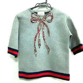 グッチ(Gucci)のGUCCI(グッチ) 半袖カットソー サイズ10 L(カットソー(半袖/袖なし))