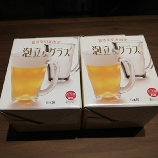 トウヨウササキガラス(東洋佐々木ガラス)の泡立ちグラス  ビールジョッキ(グラス/カップ)