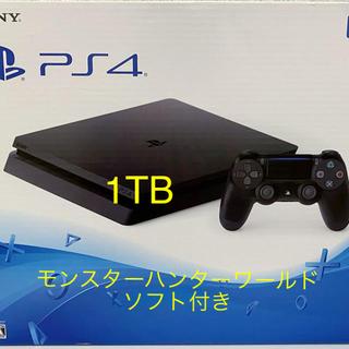 PlayStation4 - SONY  PlayStation4本体【モンスターハンターワールド ソフト付】