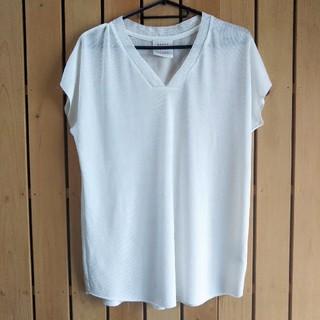 センスオブプレイスバイアーバンリサーチ(SENSE OF PLACE by URBAN RESEARCH)のSENSE OF PLACE  シャイニーVカットTシャツ(Tシャツ(半袖/袖なし))