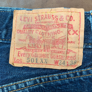 Levi's - Made in USA Levi's/501xx ビンテージ