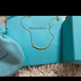 Tiffany ティファニー スマイルネックレス イエローゴールド