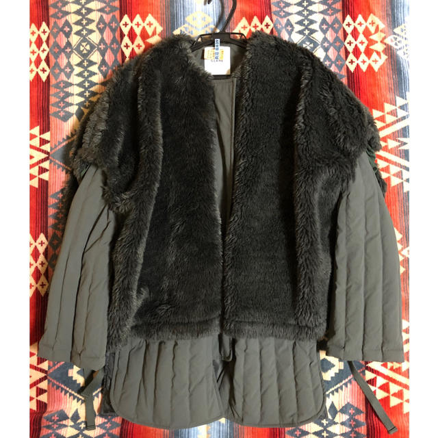 clane  クラネ 2019aw BOA VEST LAYERED DOWN レディースのジャケット/アウター(ダウンジャケット)の商品写真