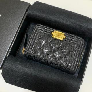 CHANEL - CHANEL キャビアスキン コインケース 財布