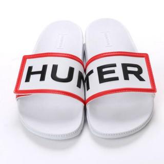 ハンター(HUNTER)の新品ハンターサンダル白UK4(サンダル)