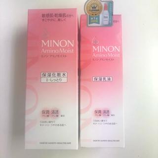 MINON - ミノン  ローションI しっとりタイプ 150ml&ミルク 100g