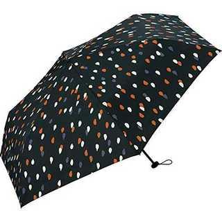 レイニーワールドパーティー(Wpc.) 雨傘 折りたたみ傘 ネイビー 53cm (傘)