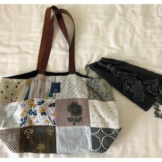 mina perhonen - ミナペルフォネンpieceのハンドバッグとforest paradeの巾着セット