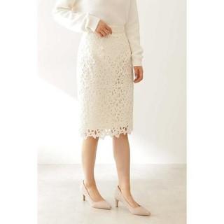 プロポーションボディドレッシング(PROPORTION BODY DRESSING)のPROPORTION BODY DRESSING*レースタイトスカート(ひざ丈スカート)
