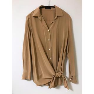 TOMORROWLAND - TOMORROWLAND シルクシャツ
