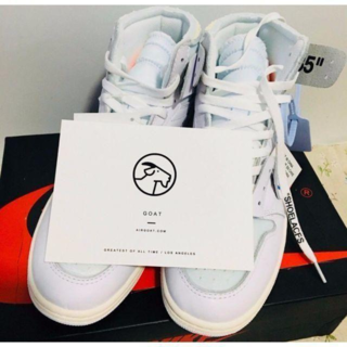OFF-WHITE - 27.5 NIKE AIR JORDAN 1 x OFF WHITE NRG