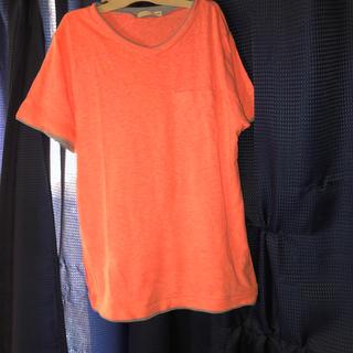 GU - GU  VネックTシャツ