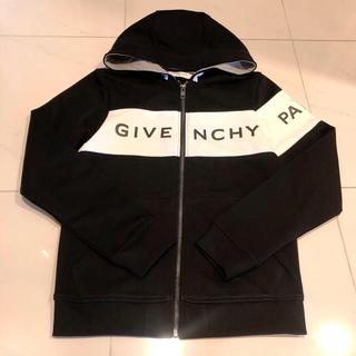 ジバンシィ(GIVENCHY)のGIVENCHY パーカー ジャケット 黒 ブラック ジバンシー 美品 チャック(パーカー)