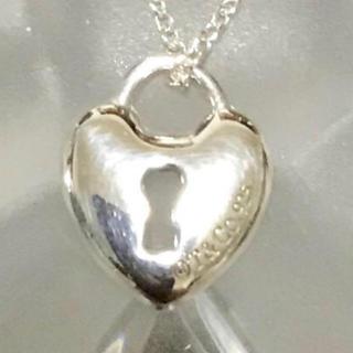 ティファニー(Tiffany & Co.)のハートロック ネックレス 付属品無し(ネックレス)