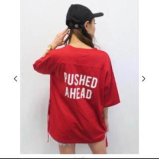 アンビー(ENVYM)の新品・サイドテープバック print Tシャツ(Tシャツ(半袖/袖なし))