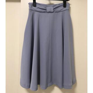 プロポーションボディドレッシング(PROPORTION BODY DRESSING)の新品バックリボンスカート(ひざ丈スカート)