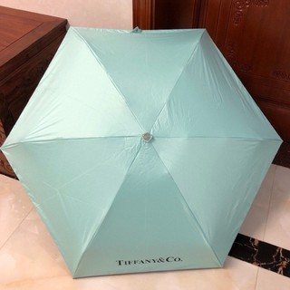 Tiffany & Co. - TIFFANY ティファニー 折りたたみ傘 ブラック 傘 日傘 雨傘 兼用
