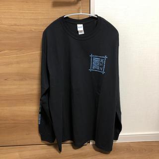 GILDAN - woodstics ken yokoyama 横山健 ロンT Lサイズ 黒