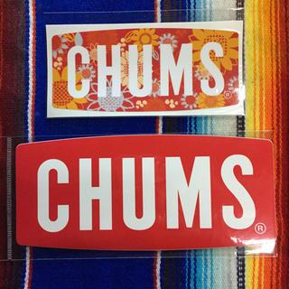 チャムス(CHUMS)の新品 CHUMS Sticker 2枚セット チャムス ステッカー c(その他)
