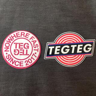 シュプリーム(Supreme)のテグテグ TEG TEG ロゴ ステッカー 2枚セット(その他)