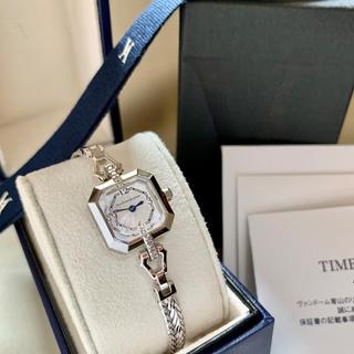 Vendome Aoyama - 美品✨電池交換クリーニング済み ヴァンドーム青山 6Pダイヤ レディース 時計