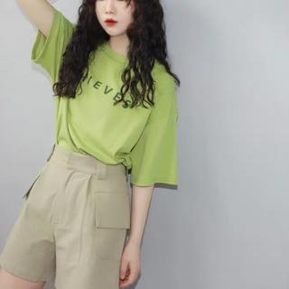 dholic - 夏服レディーストップス ゆったりTシャツオーバーサイズ韓国ファッション