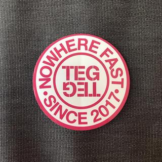 シュプリーム(Supreme)のテグテグ TEG TEG ロゴ ステッカー ノベルティー(その他)