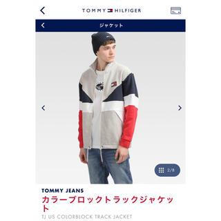 TOMMY - TOMMY JEANS カラーブロックシャツジャケット Sサイズ