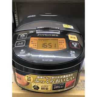 Panasonic - パナソニック 5.5合 IH炊飯器IHジャー ブラック SR-HVC1080-K