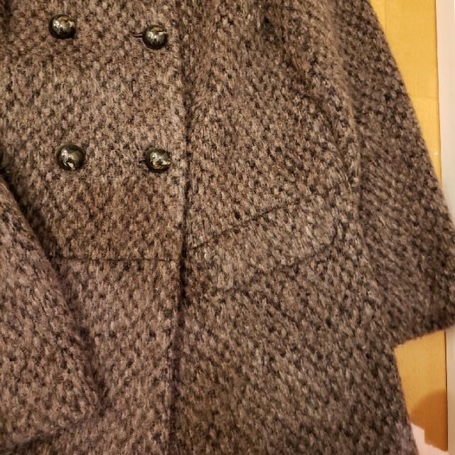 BEAUTY&YOUTH UNITED ARROWS(ビューティアンドユースユナイテッドアローズ)のBEAUTY AND YOUTH シャギーコート レディースのジャケット/アウター(ロングコート)の商品写真