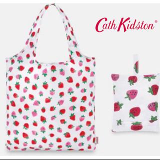 Cath Kidston - キャスキッドソン いちご エコバッグ