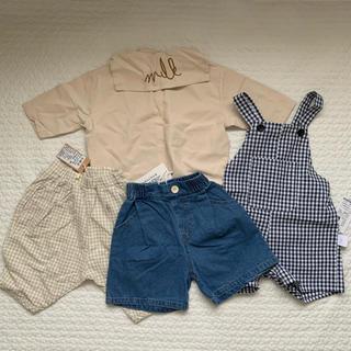 プティマイン(petit main)の韓国ベビー服 まとめ売り セット 福袋(ロンパース)