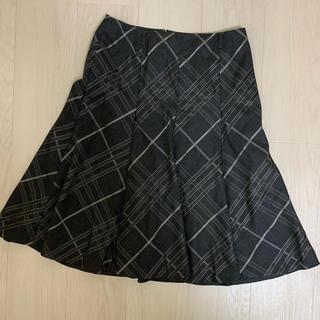 バーバリー(BURBERRY)のBurberry London膝丈スカート(ひざ丈スカート)