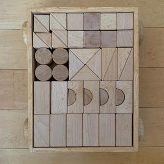 MUJI (無印良品) - 木製 積み木 無印良品