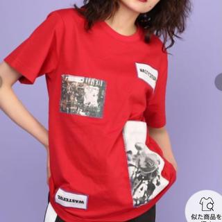 ジュエティ(jouetie)のjouetie ステッチパッチTEE(Tシャツ/カットソー(半袖/袖なし))