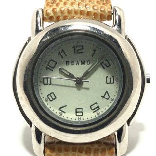 ビームス(BEAMS)のビームス 腕時計 - レディース アイボリー(腕時計)