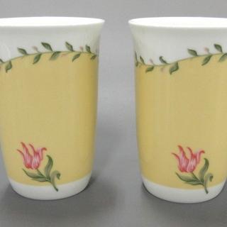 ティファニー(Tiffany & Co.)のティファニー ペアグラス新品同様  陶器(グラス/カップ)