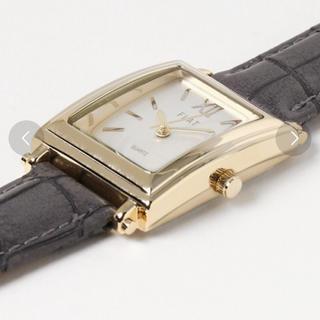 スリーフォータイム(ThreeFourTime)のThreeFourTime クロコデザイン腕時計(腕時計)