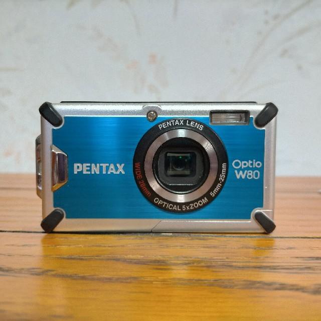 PENTAX(ペンタックス)のOptio W80 防水デジタルカメラ スマホ/家電/カメラのカメラ(コンパクトデジタルカメラ)の商品写真